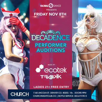Decadence Dancer Auditions
