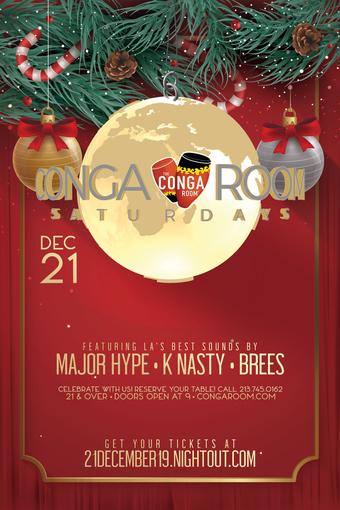 Conga Room Presents Conga Room Saturdays