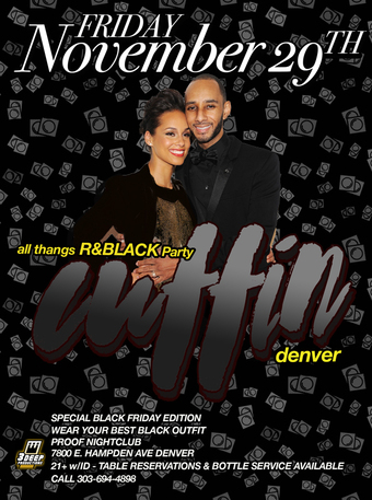 Cuffin' All Thangs R&B Party Black Friday