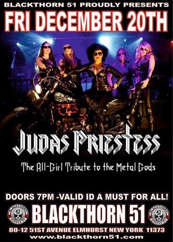 Judas Priestess (All female Judas Priest tribute)