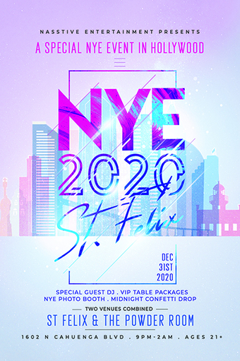 NYE at St Felix and Powder Room: A New Years Eve to Remember