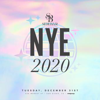Side Bar NYE 2020