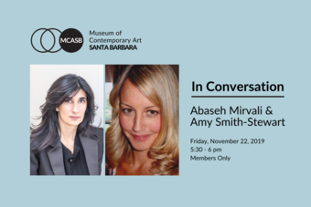 In Conversation | Abaseh Mirvali & Amy Smith-Stewart