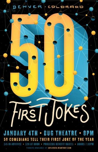 50 First Jokes Denver 2020