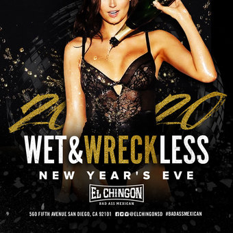 Wet and Wreckless New Year's Eve