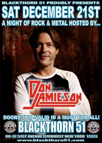A night of Rock & Metal hosted by Don Jamieson