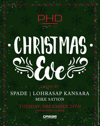 Christmas Eve at PH-D Penthouse at Dream