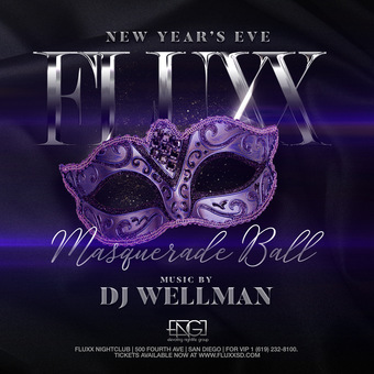 NYE 2020 at FLUXX Nightclub: Masquerade Party
