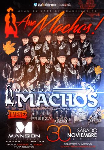 Banda Machos at Mansion Nightclub