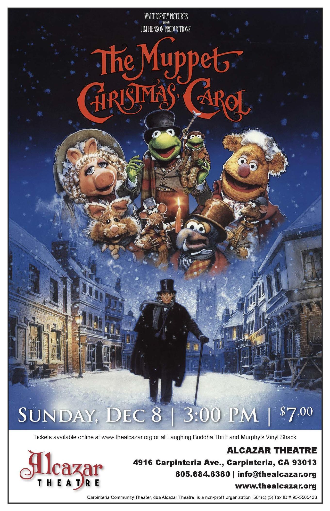 The Muppet Christmas Carol - Tickets - Alcazar Theatre, Carpinteria, CA - December 8, 2019