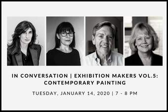 IN CONVERSATION | EXHIBITION MAKERS VOL.5: CONTEMPORARY PAINTING