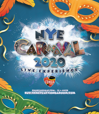 Conga Room presents Carnaval NYE 2020 Live Show