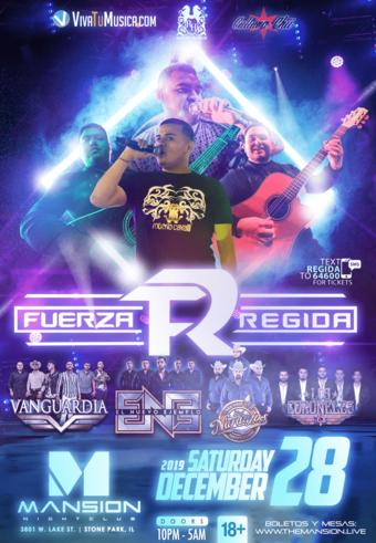 Fuerza Regida at Mansion Nightclub