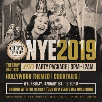 New Year's Eve in Hollywood