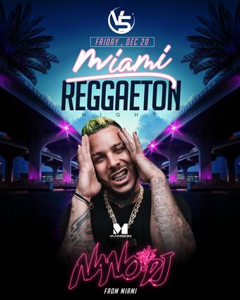 Miami Reggaeton Party ft. DJ Nano @ Mansion