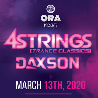 4 Strings   at Ora ( This event will be postponed to a later date)