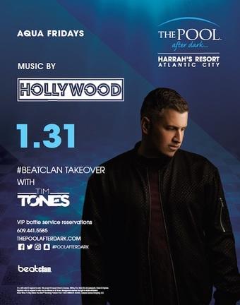 Aqua Fridays #Beatclan Takeover with DJ Hollywood