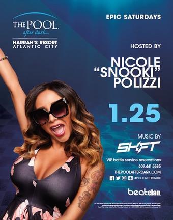 "Epic Saturdays hosted by Nicole ""Snooki"" Polizzi"