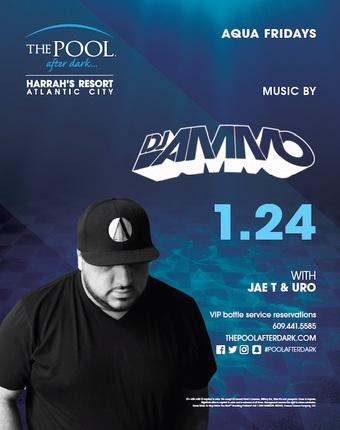 Aqua Fridays with DJ Ammo