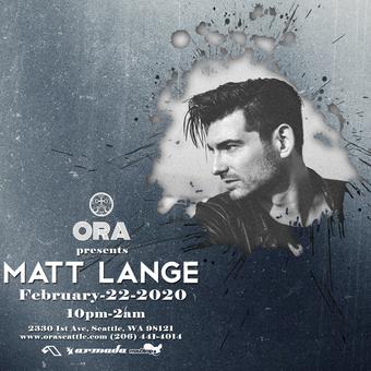 Matt Lange at Ora