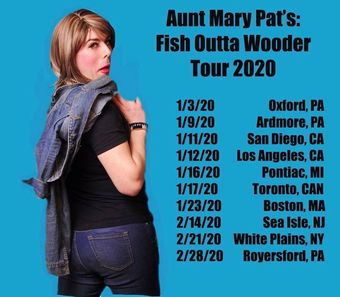 Florence, NJ:  Aunt Mary Pat's Fish Outta Wooder Tour