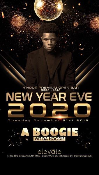 A Boogie Wit Da Hoodie at Elevate NYE 2020