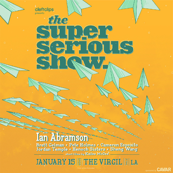 The Super Serious Show with Ian Abramson
