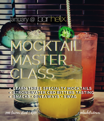bar helix mocktail masterclass 101