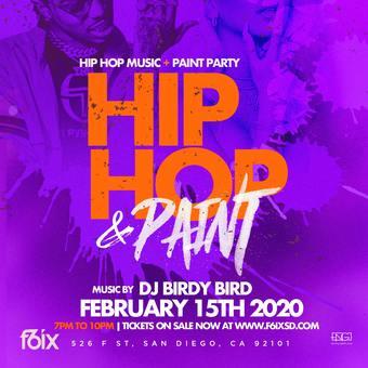 F6ix Nightclub and High Def Presents Hip Hop & Paint