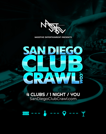 San Diego Club Crawl - Guided party tour!