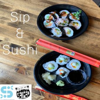Sip & Sushi a GetFed original Concept