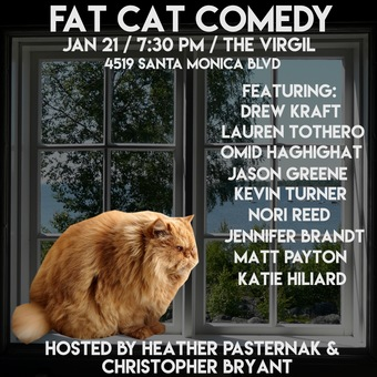 FAT CAT COMEDY