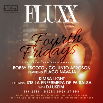 ☆New York Salsa VS Cali Salsa☆ at FLUXX