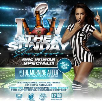 TMA Super Bowl Sunday Party