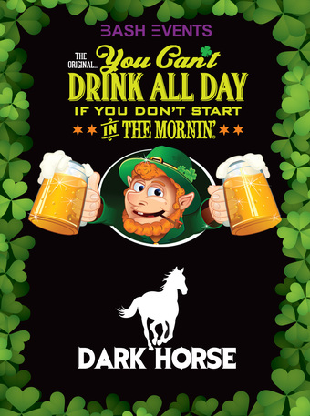 St. Patrick's Day Morning Party #YCDAD at DARK HORSE TAP & GRILLE