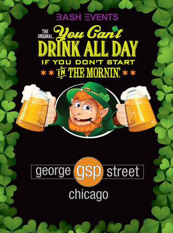 St. Patrick's Day Morning Party #YCDAD at GEORGE STREET PUB