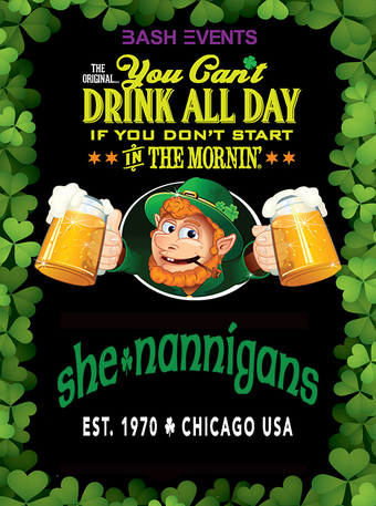 St. Patrick's Day Morning Party #YCDAD at She-nannigans