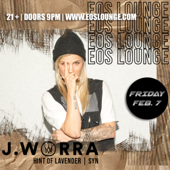 J. Worra at EOS Lounge - 02.07.20