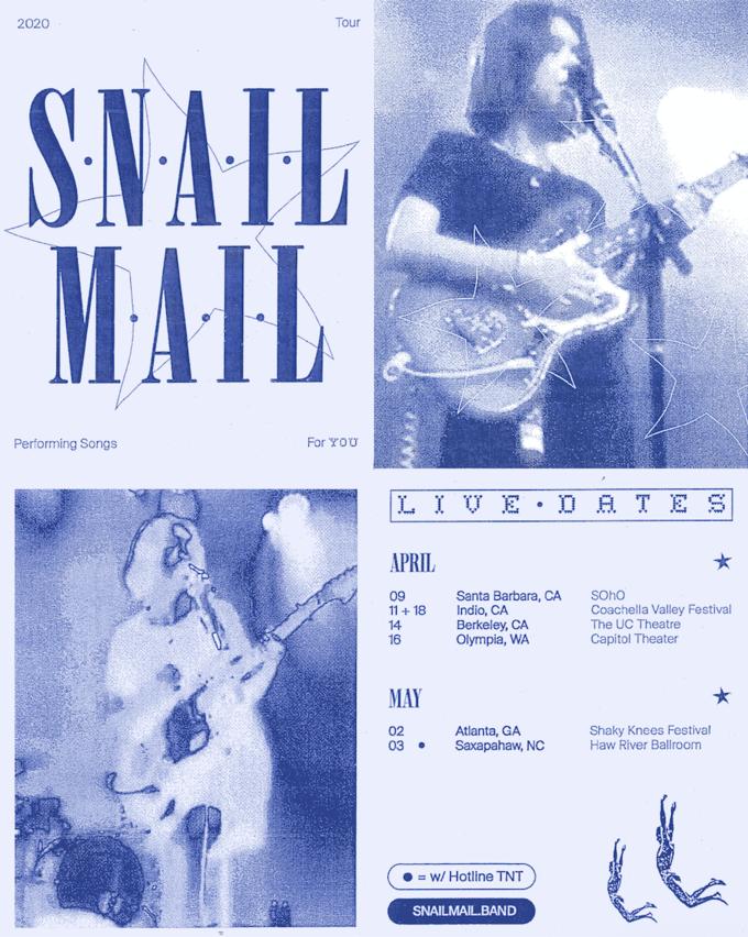 Snail Mail - Santa Barbara, CA