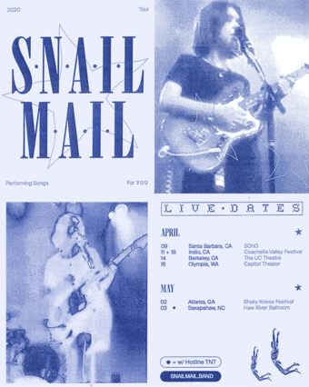 Postponed: Snail Mail - Santa Barbara, CA
