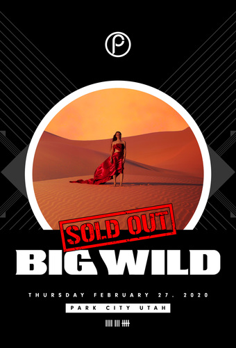 Big Wild - Superdream Tour - SOLD OUT