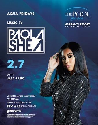 Aqua Fridays with DJ Paola Shea