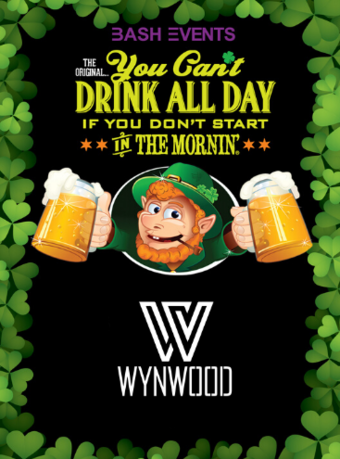 St. Patrick's Day Morning Party #YCDAD at WYNWOOD