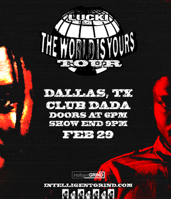 Lucki - World is Yours Tour at Club Dada