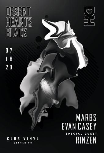 Desert Hearts Black *NEW DATE*