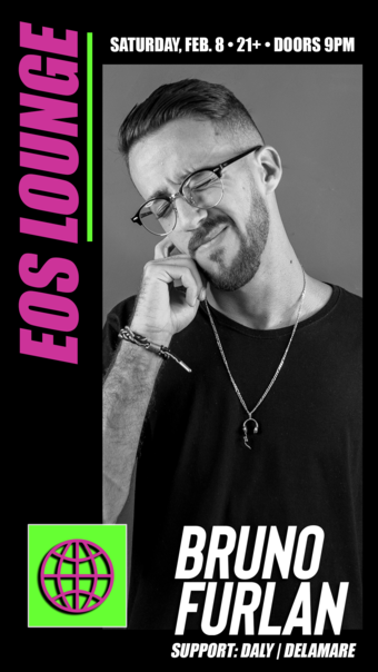 Bruno Furlan (3 hour set) at EOS Lounge - 02.08.20