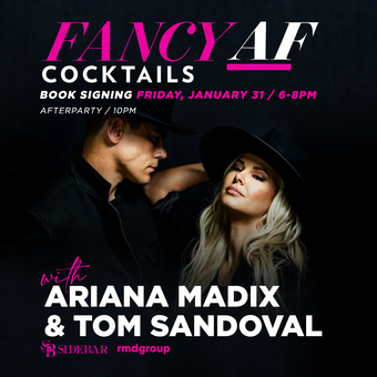Fancy AF Cocktails with Ariana Madix and Tom Sandoval