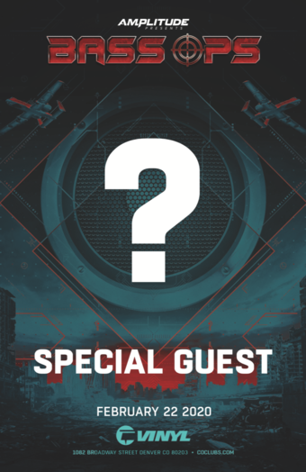 BASS OPS: Special Guest