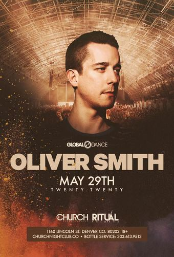 Oliver Smith *New Date*