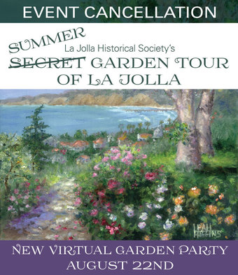 Secret Garden Tour of La Jolla 2020 is Cancelled